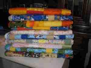 handmade & homemade quilts