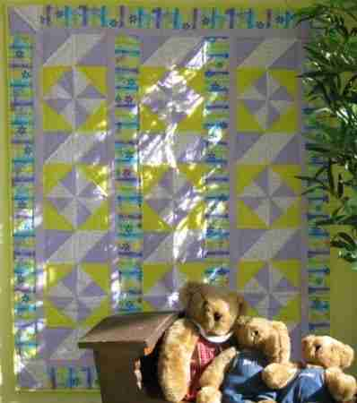 Handmade Baby Quilt on sale for Black Friday