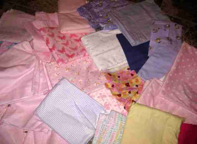 Coloring My Floor While Designing A Baby Quilt