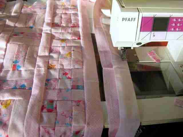 The Birth of a New Baby Quilt