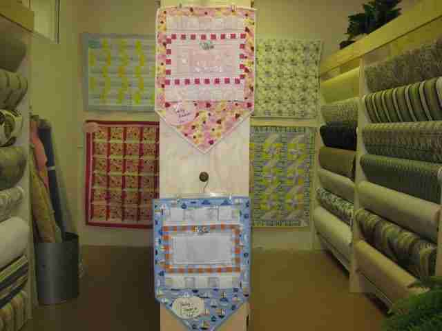 Baby Quilt on Consignment at The Cover Girl