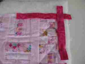 Piper Baby Quilt Binding