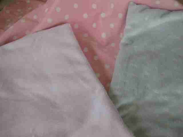 minky used in baby quilts