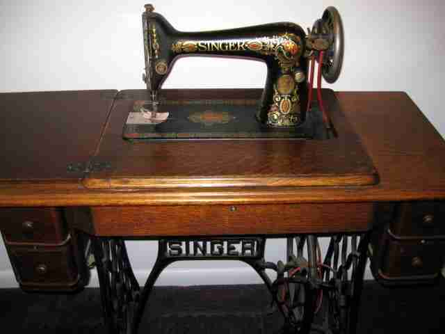 treadle machine to learn to quilt