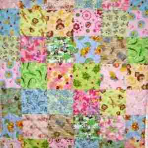 I spy animal baby quilts