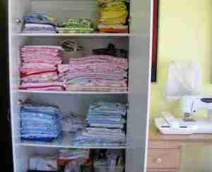 cabinet for baby quilt fabric