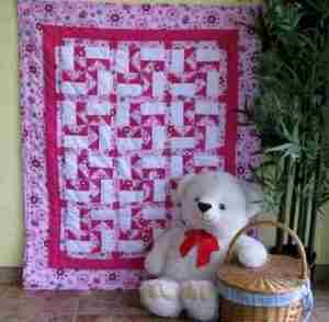 Lady Bug Fly Away Home baby quilt