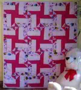 Sweet Treats unique handmade baby crib quilts