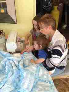 Handmade baby quilts are SEW special