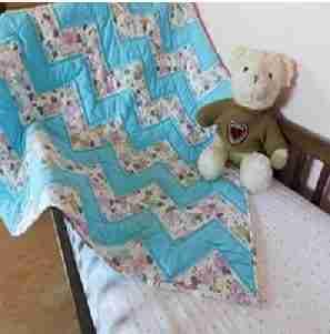 Baa Baa Baby Sheep Baby Quilt