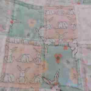 Bunny Hop Baby Quilt