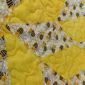 Bee Kind Baby Quilt