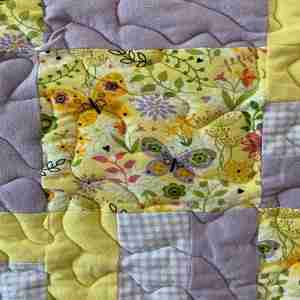 Butterfly Kisses Handmade Lap Quilt