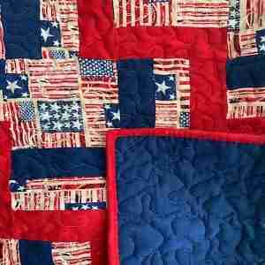 Salute to You Wheellchair Quilt