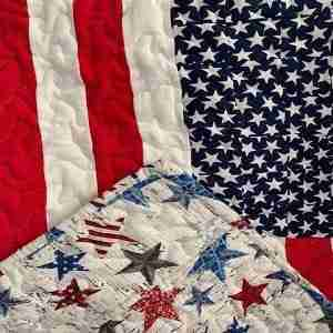 Thank You for Your Service Wheelchair Lap Quilt