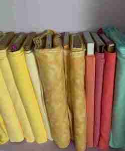 quilters store materials for handmade baby crib quilts